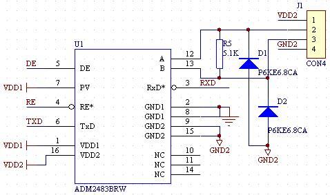 隔离型RS485芯片ADM2483应用图.jpg